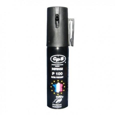 bombe lacrymogène cps au poivre punch p100
