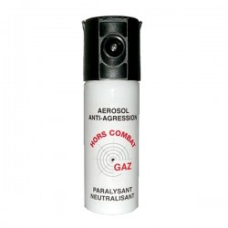 Bombe lacrymogène anti agression GAZ 50 ml
