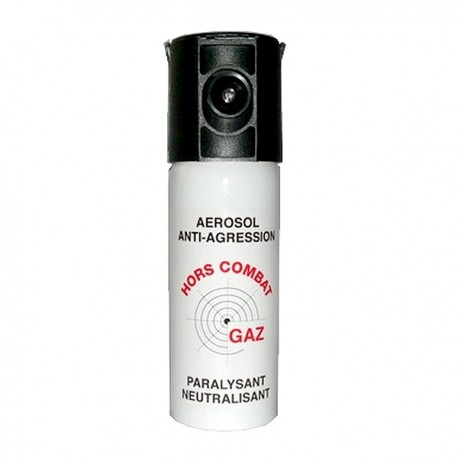 BOMBE LACRYMOGÈNE ANTI AGRESSION GAZ 50ML