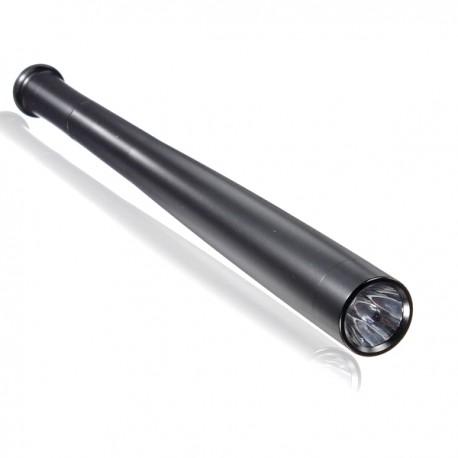 Batte de baseball Torche DEL Lampe étanche 3 Mode 41 cm anti-choc Torche Slim