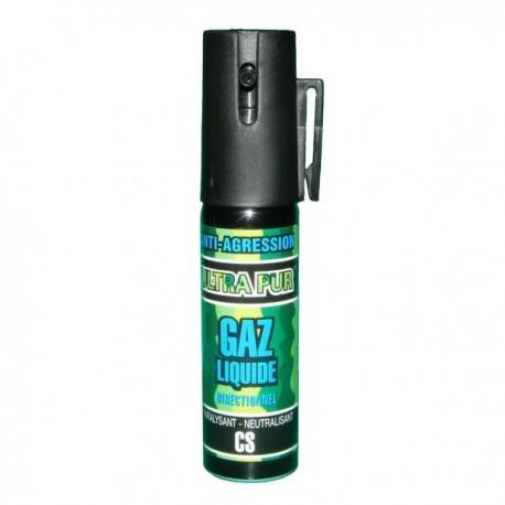 Bombe lacrymogène CS GAZ 25ml