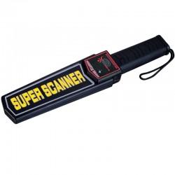 Détecteur de métaux portatif professionnel SUPER SCANNER