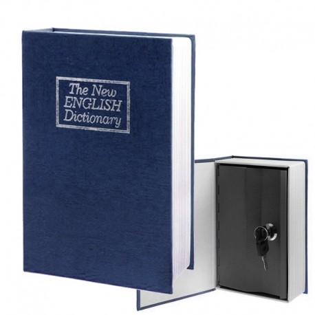 Coffre-fort dissimulé dans un grand dictionnaire anglais 24.2 cm