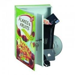 Coffre-fort dissimulé dans une boite de corn-flakes 27,2 cm