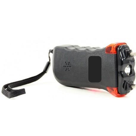 Shocker Electrique 5 Millions de Volts + Alarme sonore et lumineuse + Dragonne de Sécurité + Lampe