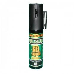 Bombe lacrymogène 25ml GEL liquide - ULTRAPUR mode d'emploi