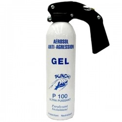 SPRAY SELF DEFENSE LACRYMOGÈNE GEL PUNCH P100 500ML