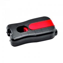 Shocker électrique poing compact pour femme avec LED 3.8 millions de Volts