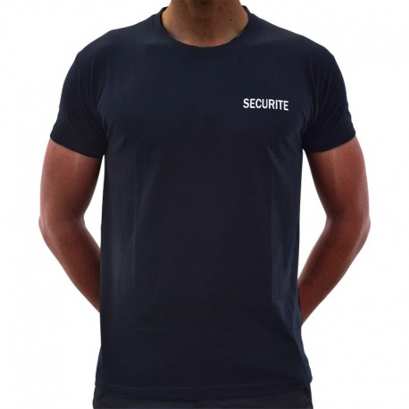 TEE SHIRT NOIR SECURITE