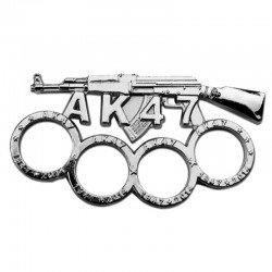 Poing americain modele fusil AK47 9mm